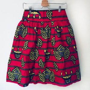 Dresses & Skirts - Ankara African print handmade skirt